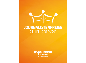 NEU! Journalistenpreise Guide 2019/20